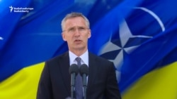 NATO Head: Russia 'Must Withdraw Its Thousands' From Ukraine