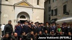 Političke poruke: Okupljanje kozaka u Kotoru