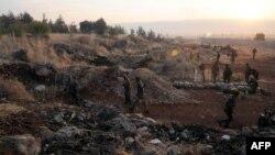 Սիրիայի կառավարական բանակը դիրքեր է գրավում երկրի արևմուտքում, 8-ը հոկտեմբերի, 2015թ․