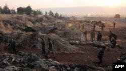 ارتش و نیروهای وابسته به بشار اسد در غرب سوریه