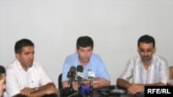 «Elmar Hüseynov» Fondunun təsisçilərinin mətbuat konfransı, 26 iyul 2006