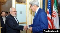 John Kerry və Mohammad Javad Zari