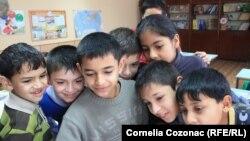 La școala din Otaci (imagine arhivă)
