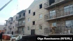 Хабаровск. Строительство социального жилья для пострадавших от наводнения. Май 2014