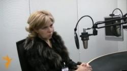 Інтерв'ю з Ольгою Богомолець у Празі