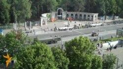 Беларускі парад пад расейскім сьцягам