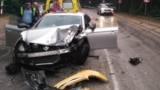 UKRAINE - Traffic accident in Yalta, Crimea, 21May2018