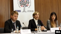 Прес-конференција на Набљудувачката мисија за избори на ОБСЕ/ОДИХР
