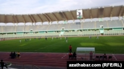 """Köpetdag"" stadionynyň içi"