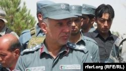 د بلخ د امنیت امر عبدالرزاق قادري