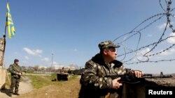 Украинские военные базы в Крыму остаются в блокаде