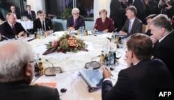 Встреча лидеров в «нормандском формате». Берлин, 19 октября 2016 года
