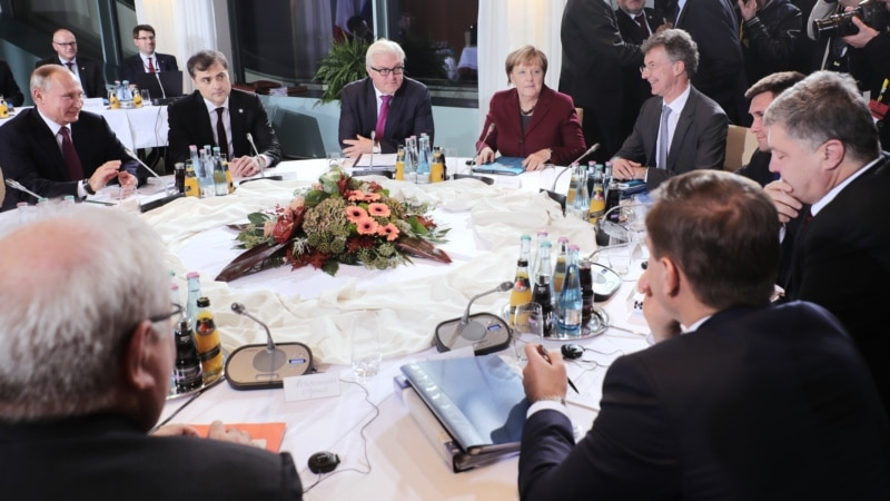 Russia, Ukraine Agree To Draft New Road Map Carrying Out Peace Deal
