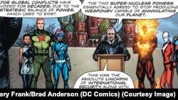 Фрагмент комикса Doomsday Clock #8