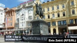 "Počast žrtvama ""Oluje"" u Zagrebu"