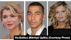 Xolavachchalar: Gulnora Karimova, Akbar Abdullaev, Lola Karimova-Tillaeva. (Rassom Martinsh Upitis)