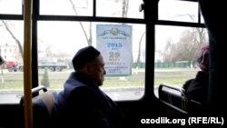 29 март куни президент сайлови бўлиши ҳақидаги плакатларни ҳозир Тошкентда ҳар қадамда учратиш мумкин.
