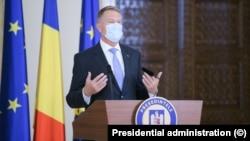 Președintele României, Klaus Iohannis.