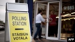 Irlandë - Votimet për Traktatin e Lisbonës, 2 tetor 2009.