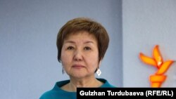 Гульбара Калиева.