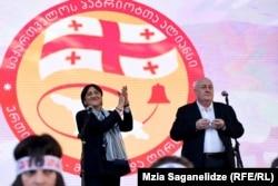 Irma Inashvili and Davit Tarkhan-Muravi