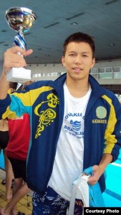 Паралимпиадаға қатысатын қазақстандық спортшы Әнуар Ахметов (Сурет спорт және дене шынықтыру агенттігінің баспасөз қызметінен алынды)