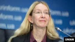 Виконувач обов'язків міністра охорони здоров'я України Уляна Супрун