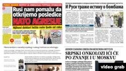 Mediat në Serbi shkruajnë për lidhje midis rasteve me kancer dhe bombave të NATO-s.