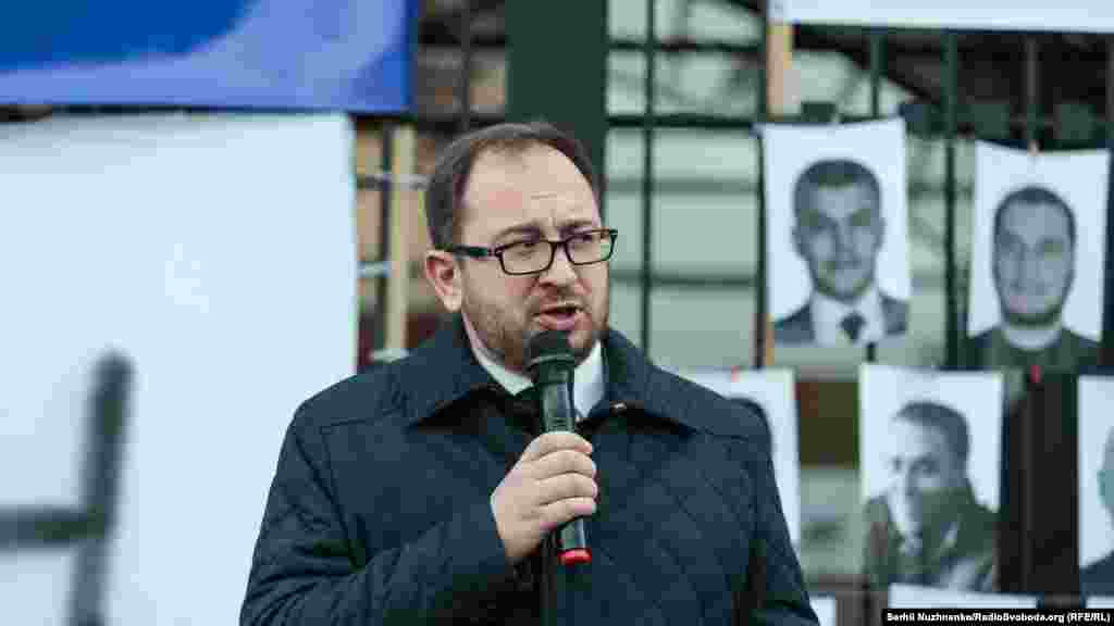 В акції взяв участь адвокат Микола Полозов