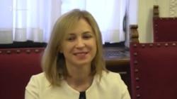 Скандал в Сербии из-за Поклонской (видео)