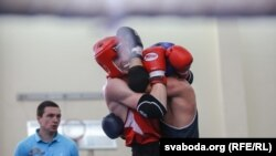 Архивное фото с чемпионата по боксу в Минске в 2016 году