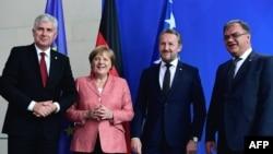 Susret članova Predsjedništva BiH i njemačke kancelarke Angele Merkel u Berlinu, 30. juni 2016.