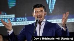 """""""Милан"""" футбол клубының бұрынғы ойыншысы, Тбилиси қаласының мэрі болып жаңадан сайланған Кахабер Каладзе."""