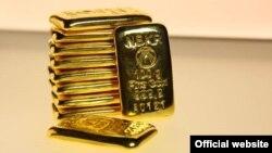 Золотые слитки, выпускаемые Нацбанком КР.