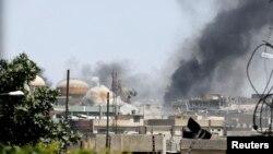 Sukobi u okrugu Šifa na zapadu Mosula, 15. juna 2017.