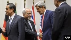 جان کری، وزیر خارجه آمریکا و محمدجواد ظریف