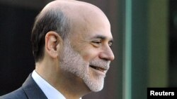 Глава Федеральной резервной системы США Бен Бернанке