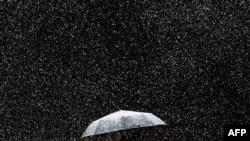 Дождь, и все, что с ним связано стали основной темой экспозиции в Петропавловской крепости