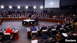 НАТО елдері басшыларының саммиті. Брюссель, 11 шілде 2018 жыл.