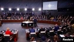 НАТОнун Брюсселдеги саммити. 11-июль, 2018-жыл.