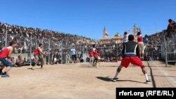 آرشیف، یک مسابقه والیبال در لغمان