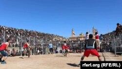 مسابقات جام قهرمانی و تیمهای منتخب والیبال افغانستان در کابل آغاز شد