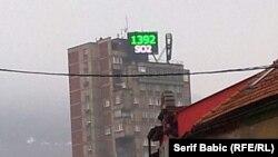 Mjerač koncentracije prljavštine u zraku, Zenica, 2013.