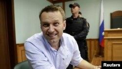 Алексей Навальный в Московском городском суде, июнь 2017 года
