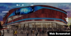 A screen grab from a website associated with the Safmar Group shows the proposed performance facility.