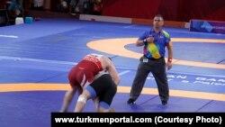 Состязание на летних Азиатских играх в Индонезии