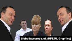 Илустрација - Сашо Мијалков, Зоран Заев, Вилма Русковска и Оливер Спасовски