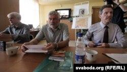 Зьміцер Герасімовіч, Уладзімер Арлоў і Зьміцер Санько