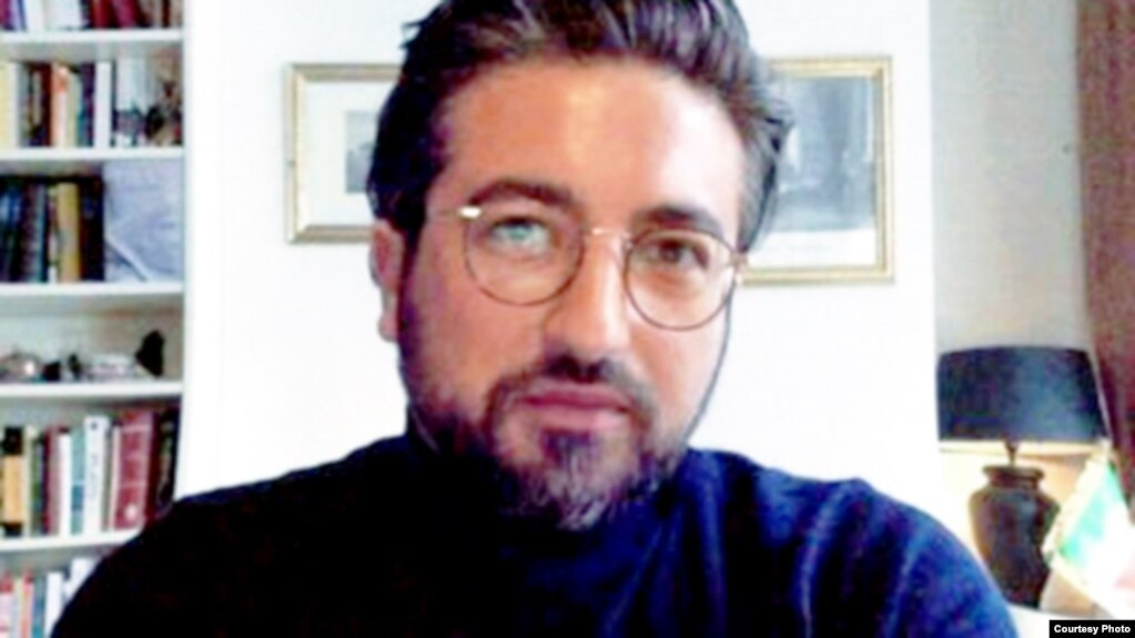 Iranian political activist Damon Golriz, undated.