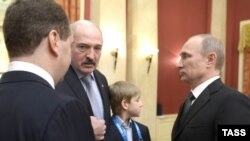 Александр Лукашенко на приеме в честь открытия зимних Олимпийских игр в Сочи